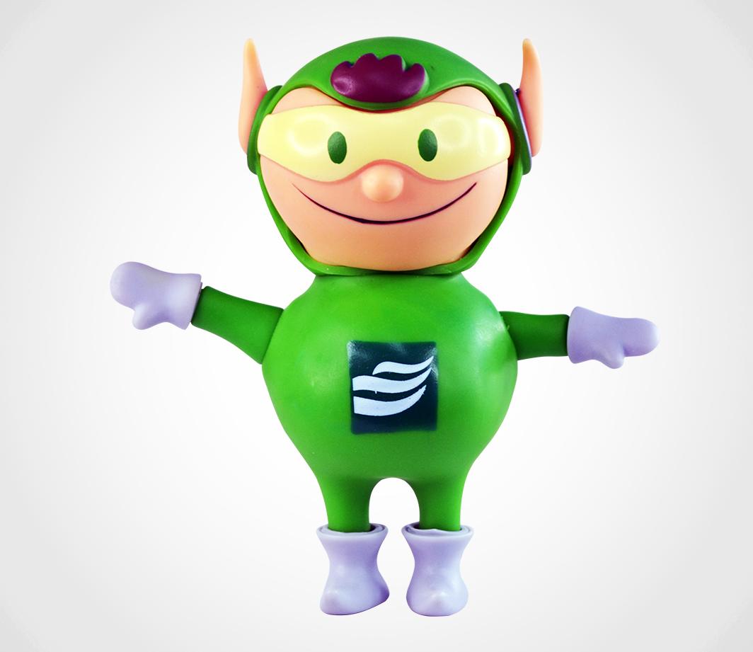 Mascote Verde